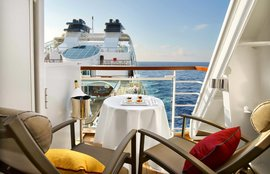 Seabourn Cruise Line is an ultra-luxury cruise line. Seabourn operates all around the world, from short seven-day Caribbean cruises to exotic 100+ day cruises around the world cruises.