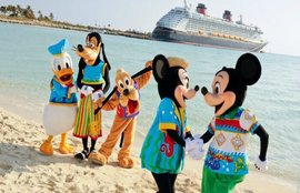 Disney Cruise Line - Ports of Call include Alaska, the Caribbean, the Bahamas, and more than 15 European countries. Itineraries fill up quickly, so don't wait too long to book your Disney Cruise.